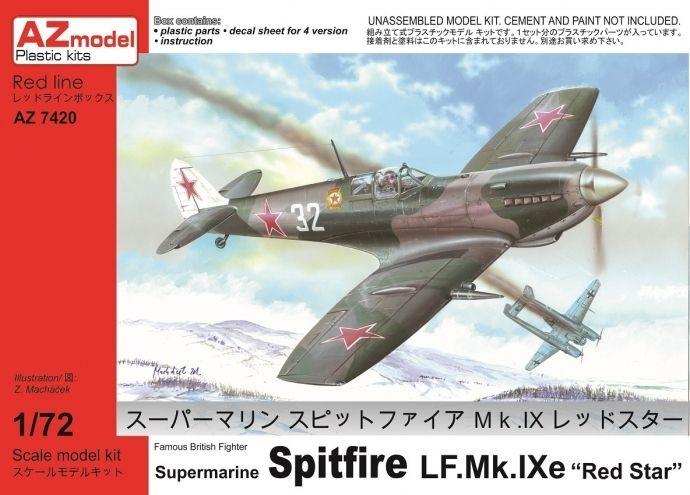 AZ Model Supermarine Spitfire LF Mk IXe Red Star