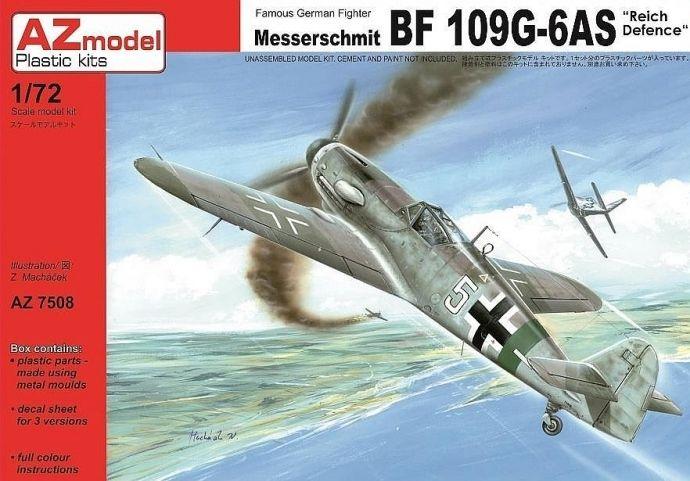 AZ Model Messerschmitt Bf109G-6AS Reich Defence