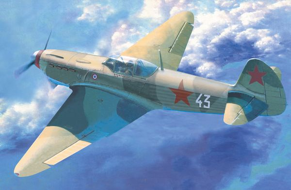Mistercraft Yak-1M Normandie