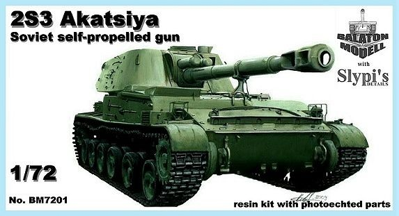 Balaton Model 2S3 Akatsiya SPG
