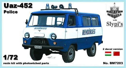 Balaton Model Uaz-452 police