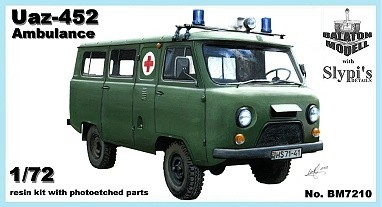 Balaton Model Uaz-452 ambulance