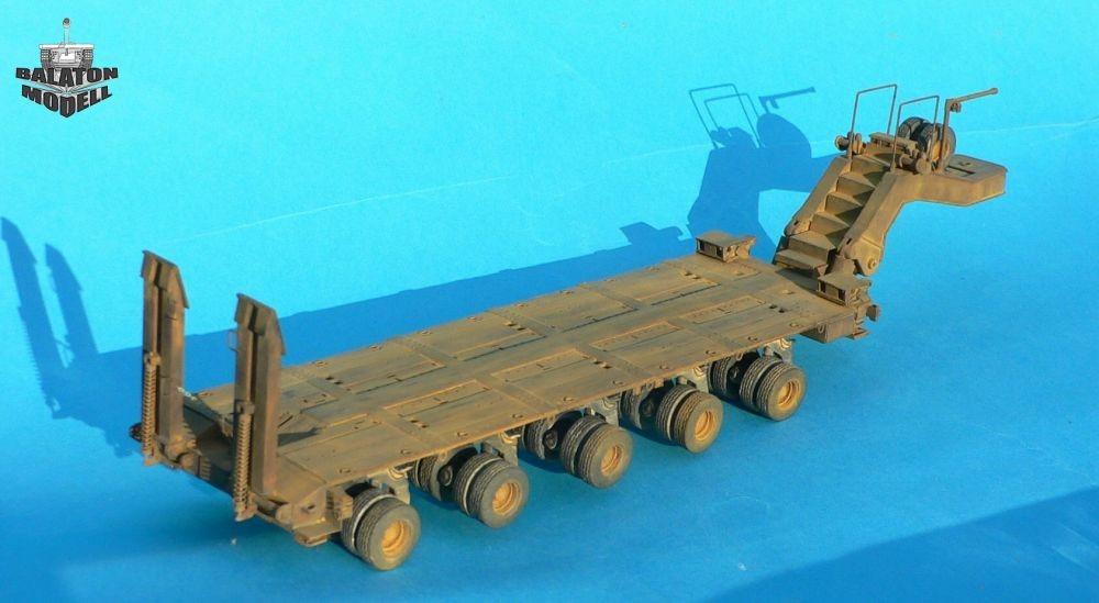 Balaton Model M1000 heavy trailer