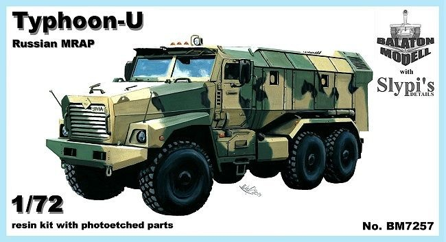 Balaton Model Typhoon-U Russian MRAP