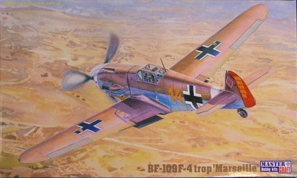 Mistercraft BF-109F-4/trop Marseille