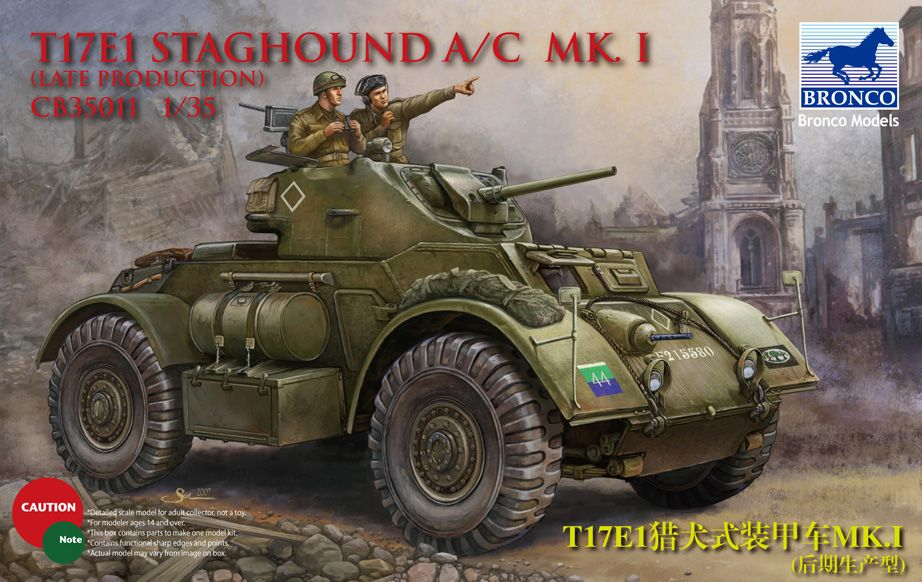 Bronco T17E1 Staghound A/C Mk.I (Late Production)