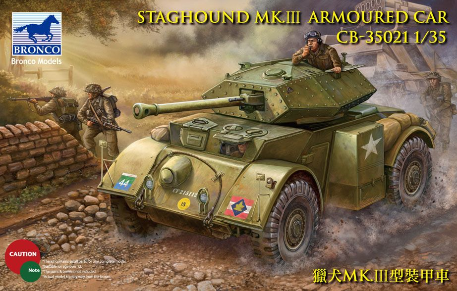 Bronco Staghound Mk.III US Army