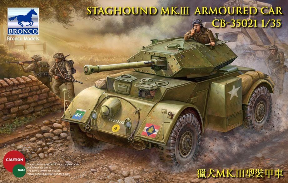 Bronco Staghound Mk.III US Army