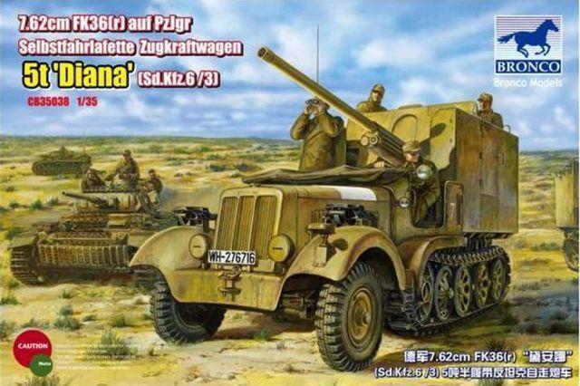 Bronco Sd.Kfz.6(5t) Diana