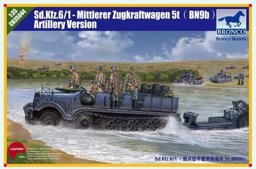 Bronco Sd.Kfz.6 5(t) Type BN9 Artillery Version