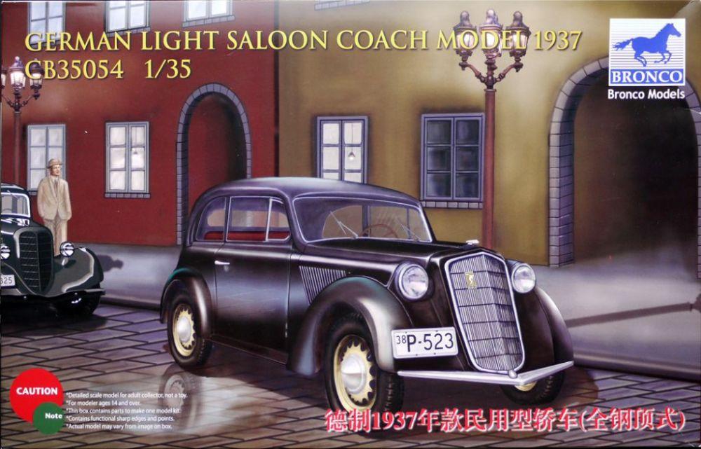 Bronco 1937 German Light Saloon (Opel Olympia)