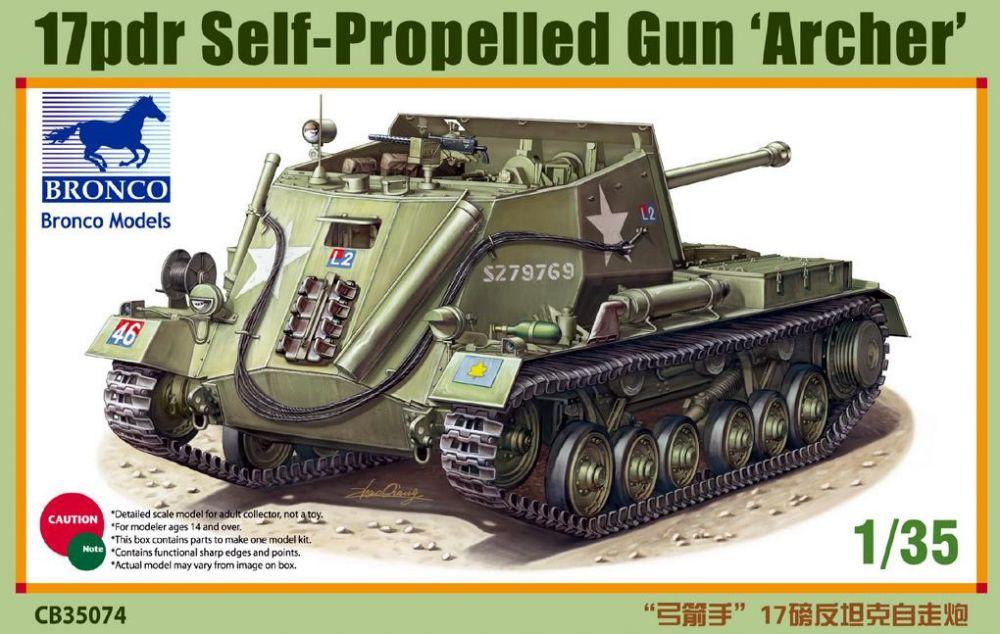Bronco 17pdr Self-Propelled Gun 'Archer'