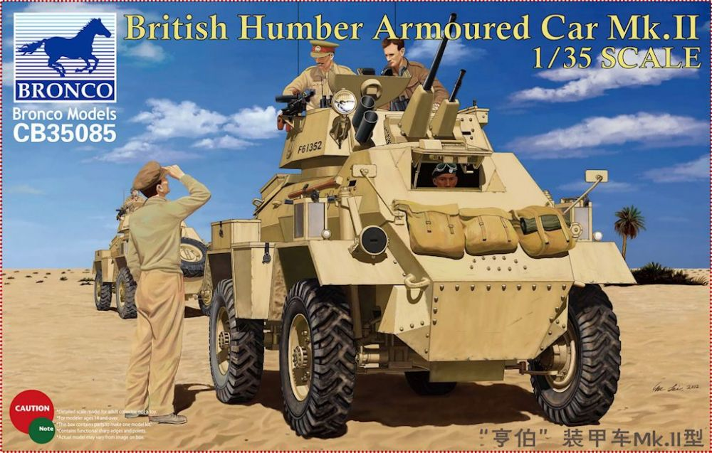 Bronco British Humber Armoured Car Mk.II