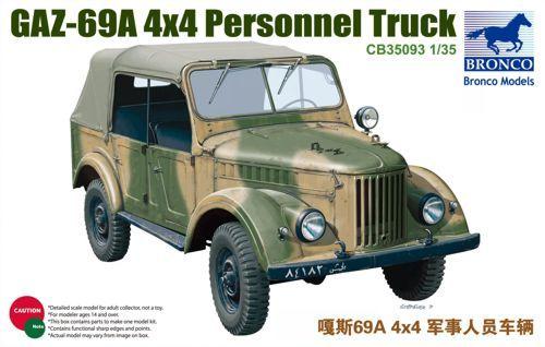 Bronco Russian GAZ69A