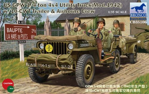 Bronco US GPW 1/4ton 4x4 Utility Truck (Mod.1942)