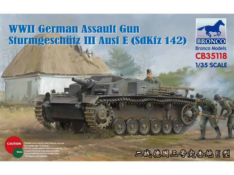 Bronco Sturmgeschütz III Ausf E (SdKfz 142)