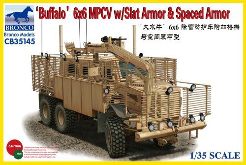 Bronco Buffalo 6x6 MPCV with Slat Armour & Spaced Armour