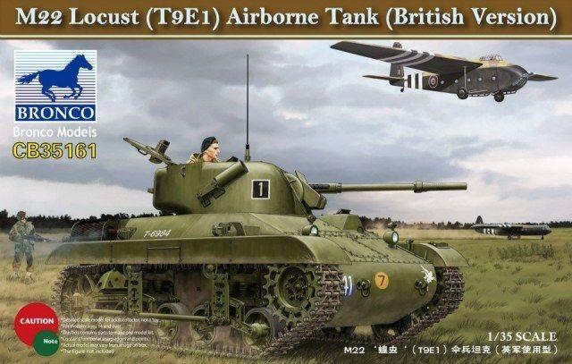 Bronco M22 Locust (T9E1) Airborne Tank