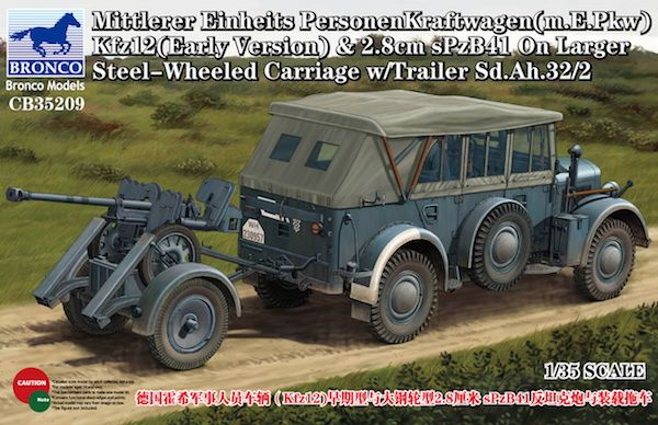 Bronco Mittlerer Einheits PersonenKraftwagen(m.E.Pkw) Kfz12(Early Version)