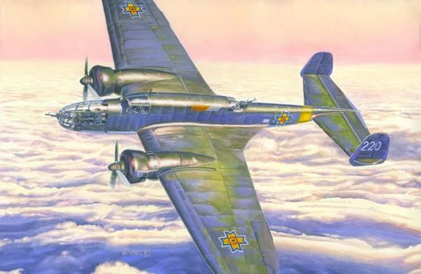 Mistercraft PZL P-37 VVS & FARR