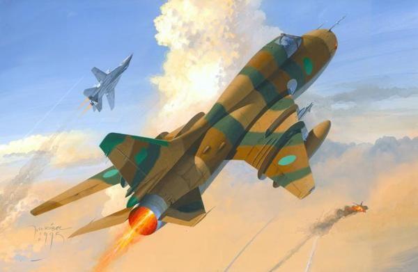 Mistercraft Su-22M3 Gulf of Sidra Conflict
