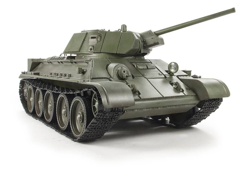AFV T34-76 Model 1942 & Applique Armor