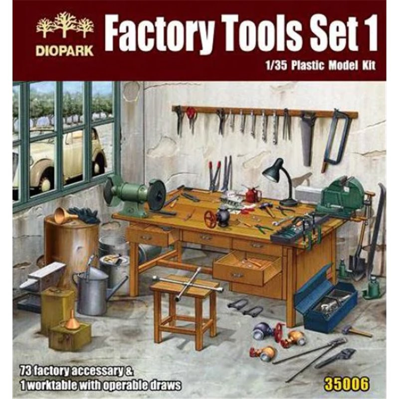 Diopark Factory Tools Set 1