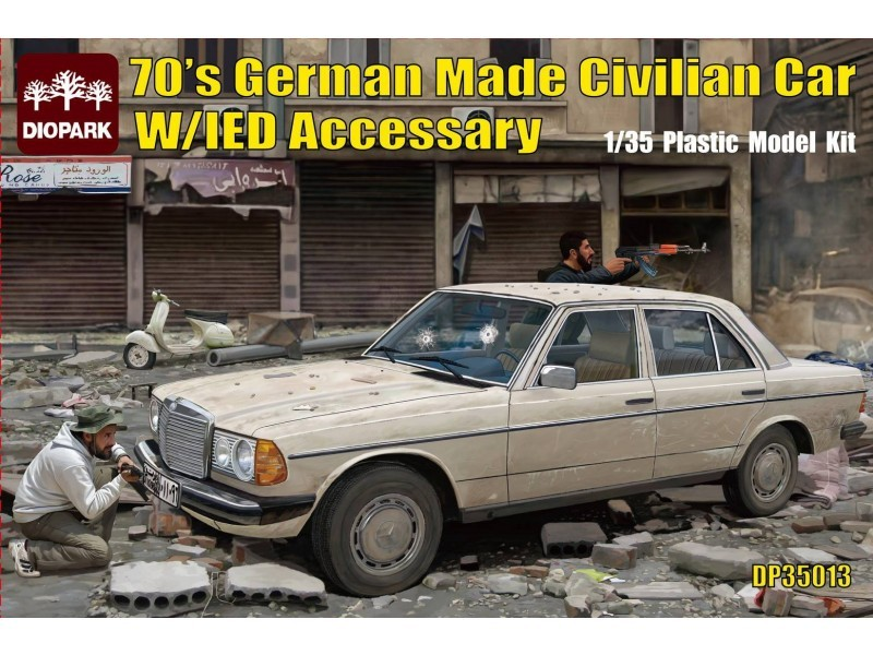 Diopark Mercedes Benz 200D w/IED Accessaries