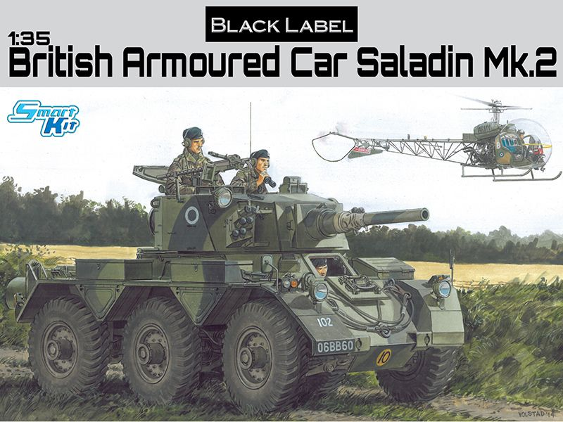Dragon Armoured Car Saladin Mk.2