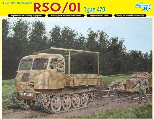 Dragon German RSO/1 Traktor