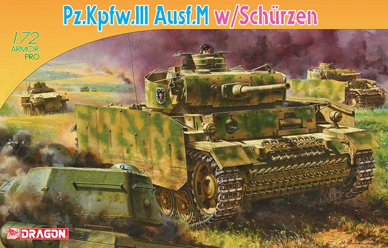 Dragon Pz.Kfpw.III Ausf.M With Schurzen