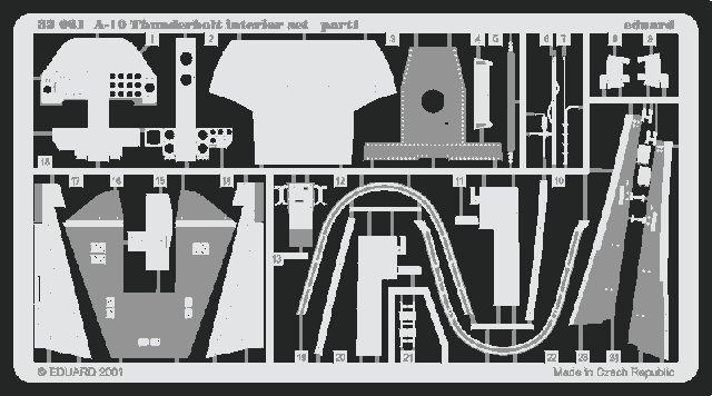 Eduard A-10 interior (Trumpeter)