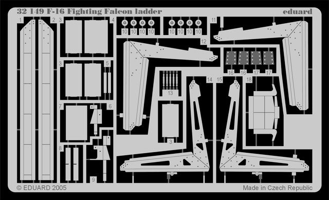 Eduard F-16 ladder