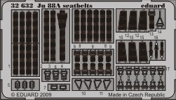 Eduard Ju 88A seatbelts (Revell)