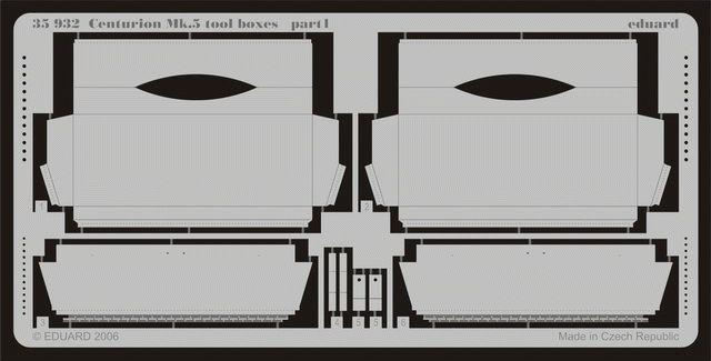 Eduard Centurion Mk.5 tool boxes (AFV Club)