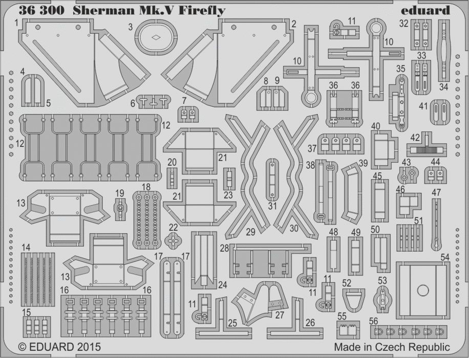 Eduard Sherman Mk.V Firefly (Tamiya)