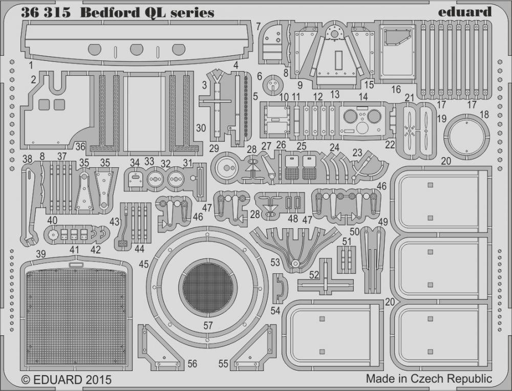Eduard Bedford QL series (IBG)