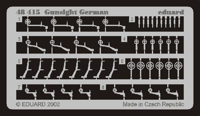 Eduard Gunsight German