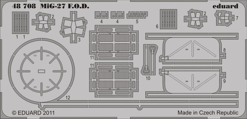 Eduard MiG-27 F.O.D. (Italeri)