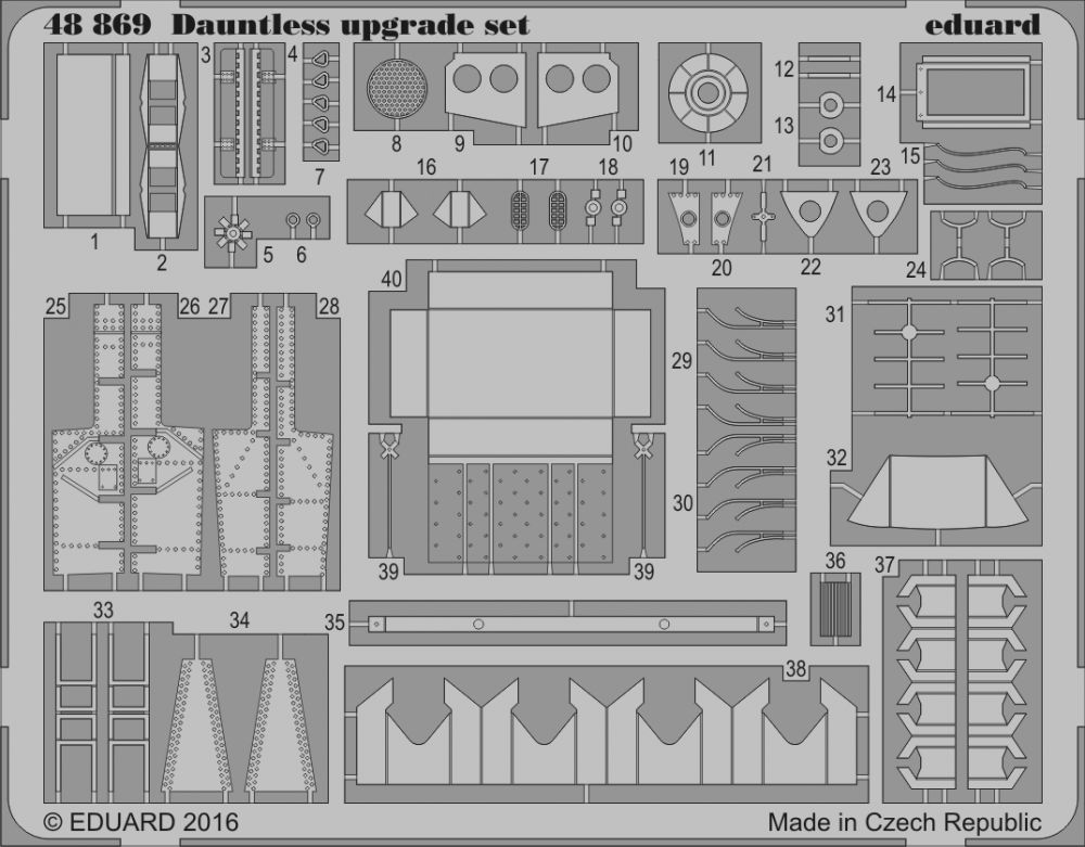 Eduard Dauntless upgrade set (Eduard)