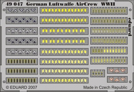 Eduard German Luftwaffe Air Crew WWII