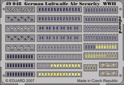 Eduard German Luftwaffe Air Security WWII