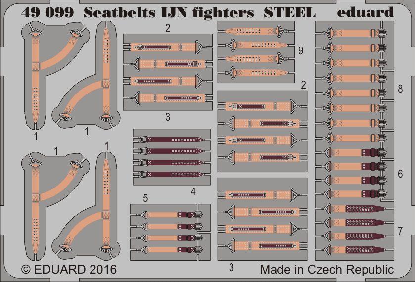 Eduard Seatbelts IJN fighters STEEL