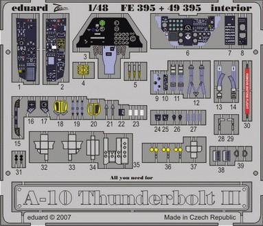 Eduard A-10 interior (Hobby Boss)