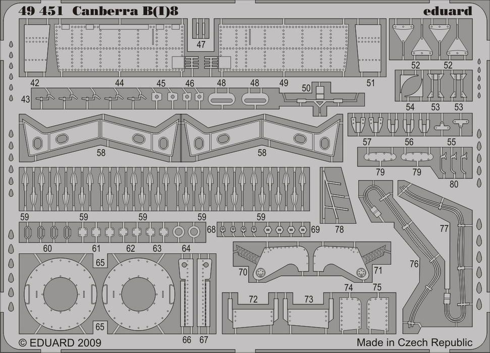 Eduard Canberra B(I)8 S.A. (Airfix)