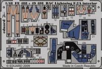 Eduard BAC Lightning F.2A S.A. (Airfix)