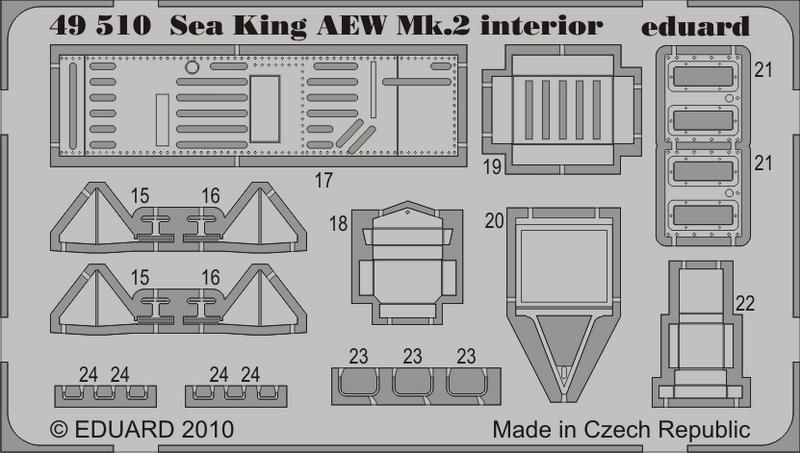 Eduard Sea King AEW Mk.2 S.A. (Hasegawa)