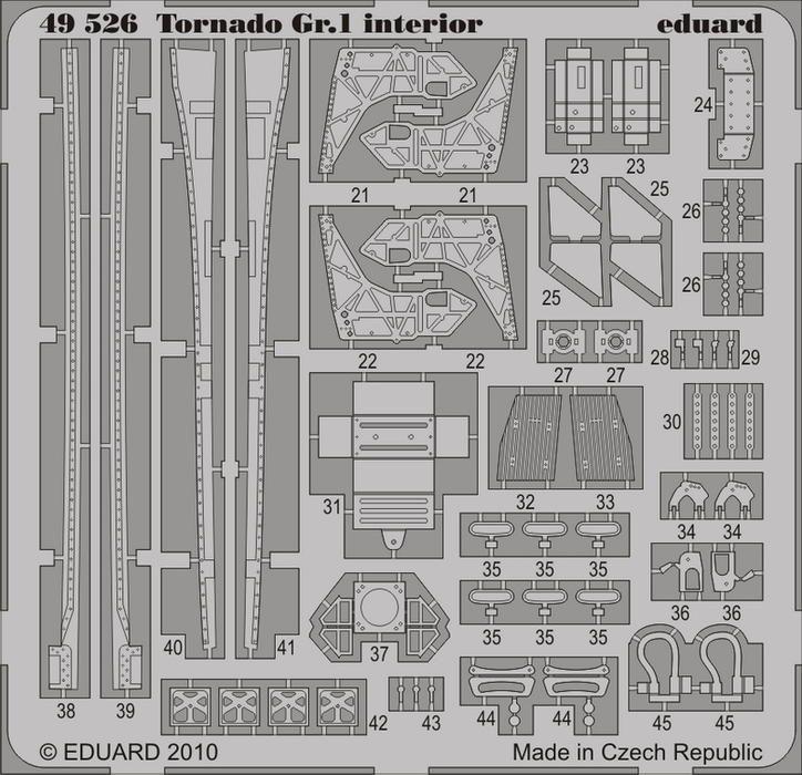 Eduard Tornado Gr.1 interior S.A. (Hobby Boss)