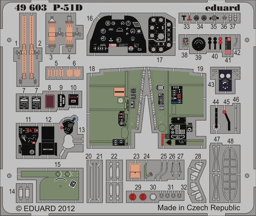 Eduard P-51D S.A. (Hobby Boss)
