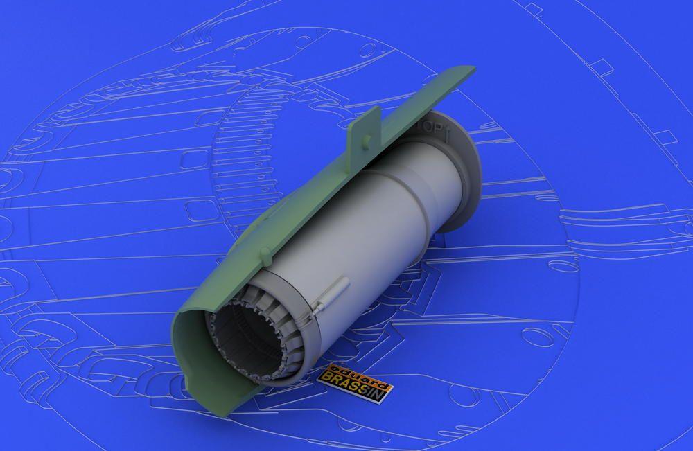 Eduard MiG-21MF/SMT exhaust nozzle (EDUARD)